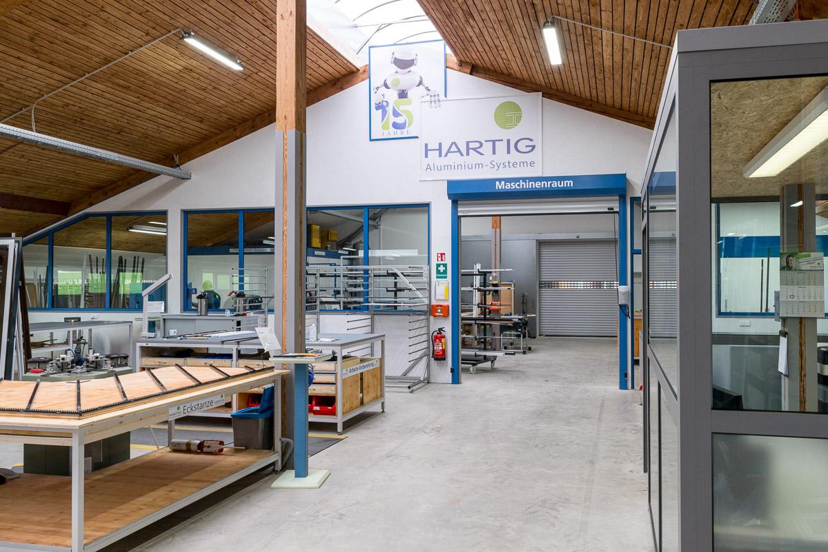 Firmengebäude HARTIG Aluminium-Systeme
