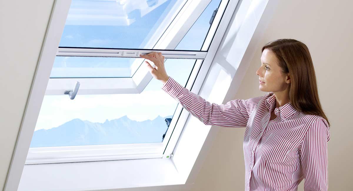 Rollos für Dachflächenfenster
